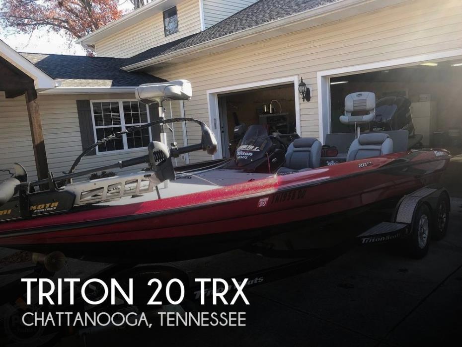 2007 Triton 20 TRX