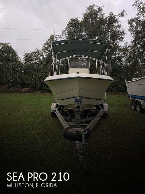 1999 Sea Pro 210
