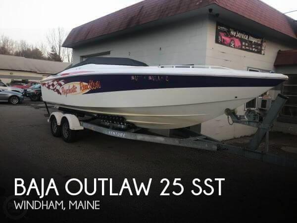 2001 Baja Outlaw 25 SST
