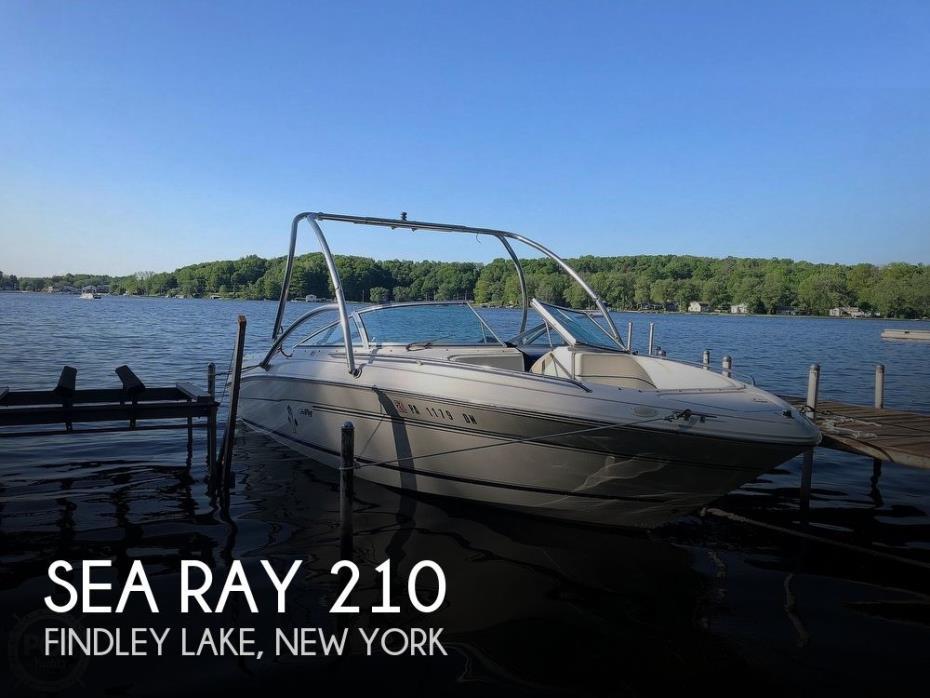 1997 Sea Ray 210 BR