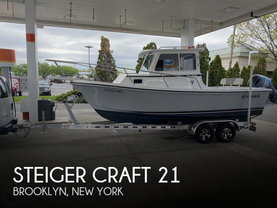 2021 Steiger Craft 21 DV Miami