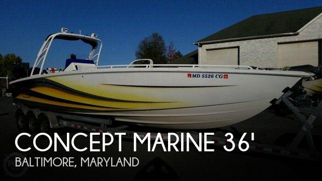 2005 Concept Marine 36 Center Console