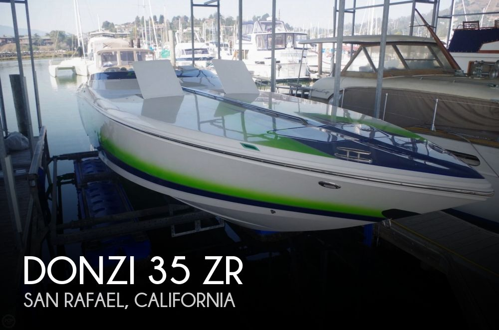 2008 Donzi 35 ZR