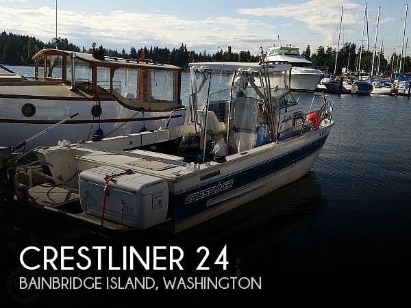 1991 Crestliner 24