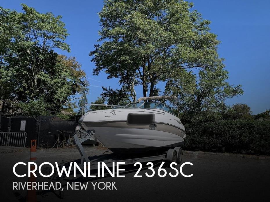 2012 Crownline 236 SC