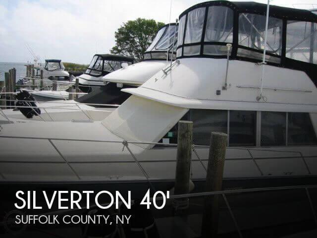 1986 Silverton 40 Aft Cabin
