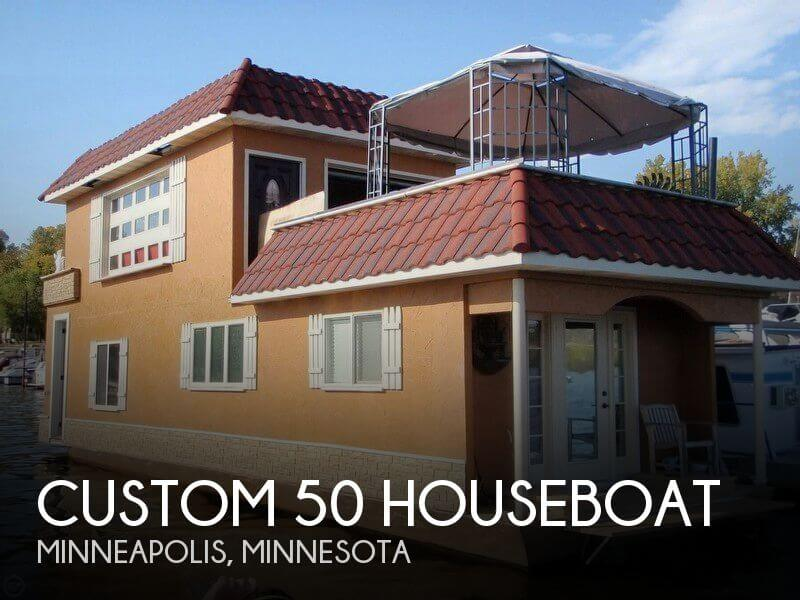 2012 Custom 50 Houseboat