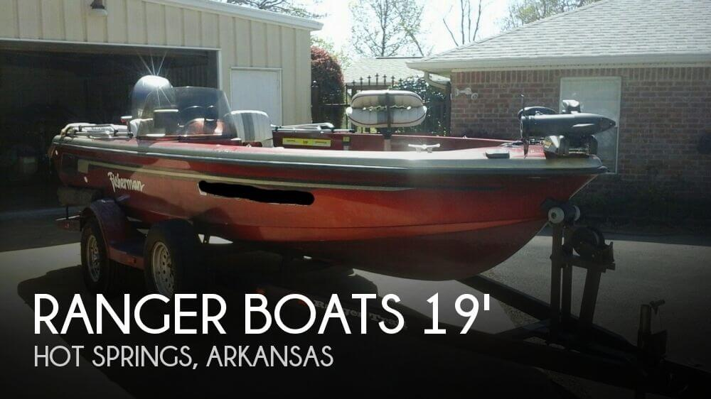 1996 Ranger Boats 690 VS Fisherman