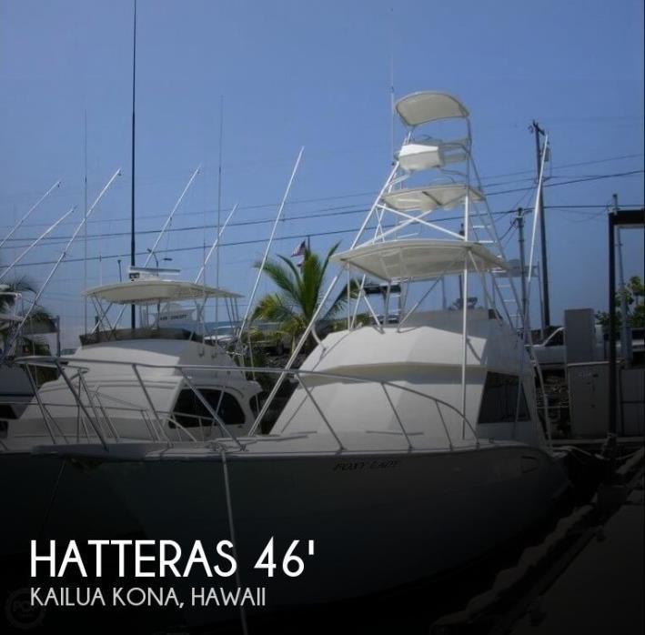 1976 Hatteras 46 Convertible (2006 Engine & Refit)