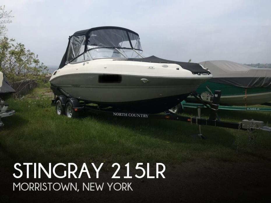 2018 Stingray 215LR