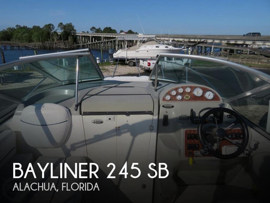 2007 Bayliner 245 SB