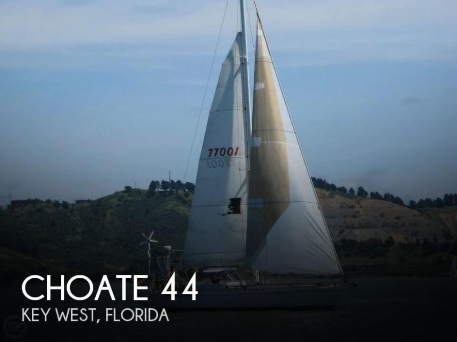 1981 Choate 44