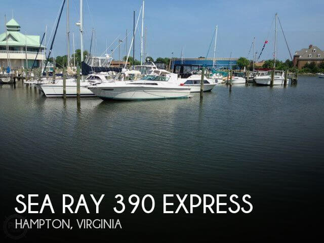 1986 Sea Ray 390 Express