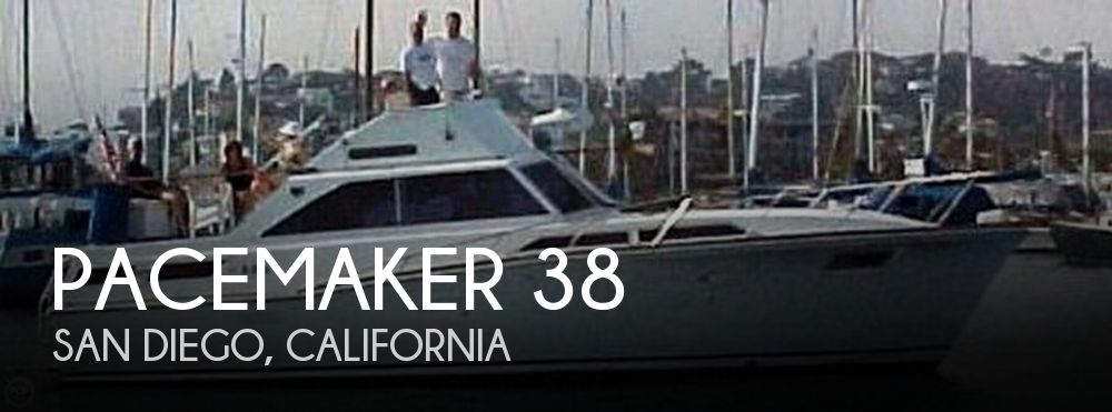 1970 Pacemaker 38 Aft Cabin