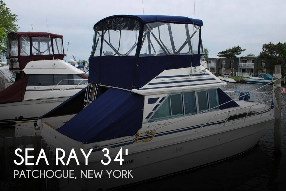 1985 Sea Ray 34 Sedan Bridge