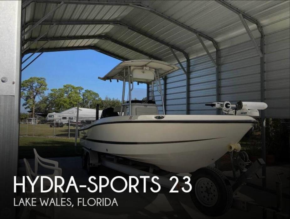2008 Hydra-Sports 23 Bay Bolt