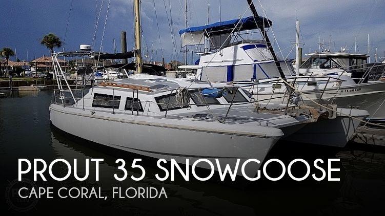 1977 Prout 35 Snowgoose