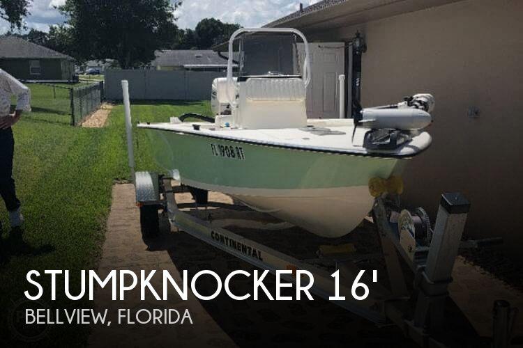 2018 Stumpknocker Coastal 166CC