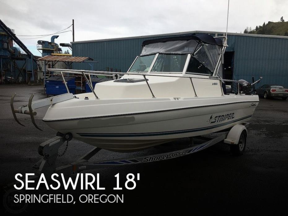 1997 Seaswirl Striper 1850 WA