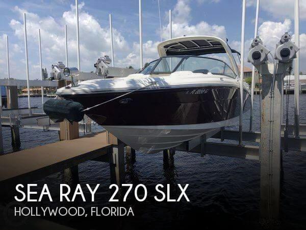 2007 Sea Ray 270 SLX