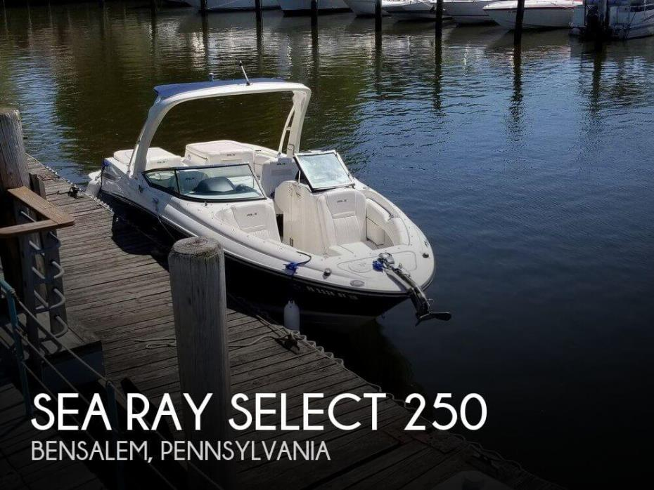 2008 Sea Ray Select 250