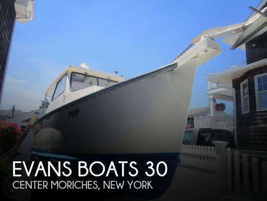 2001 Evans Boats 30
