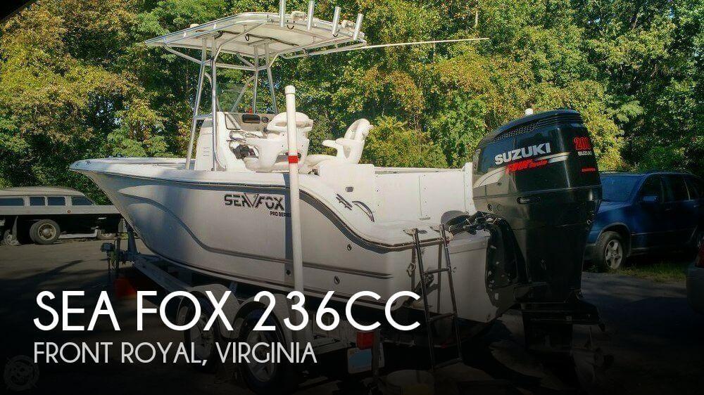 2007 Sea Fox 236CC