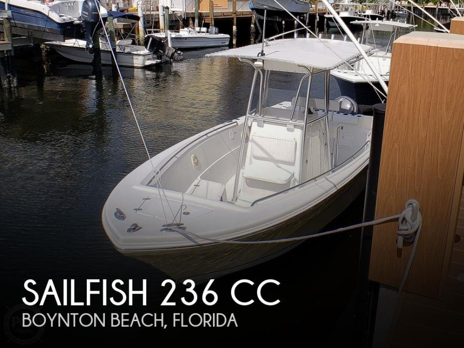 2005 Sailfish 236 CC