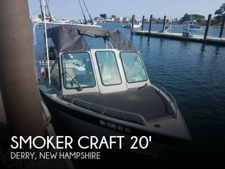2016 Smoker Craft Phantom 202 OS