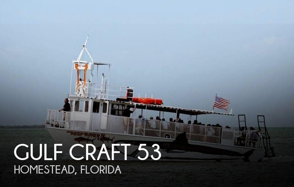 1985 Gulf Craft 53