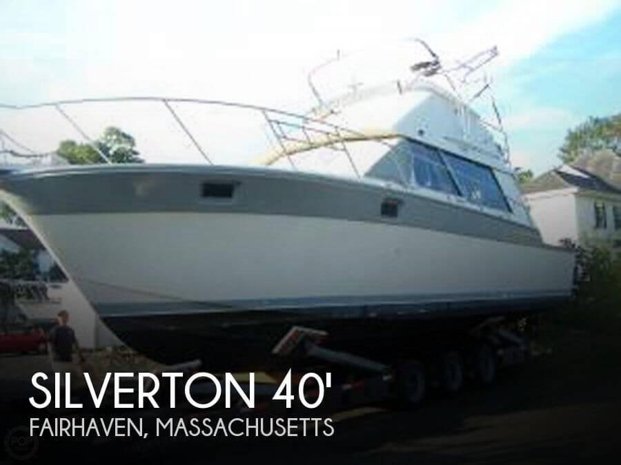1986 Silverton 40 Convertible