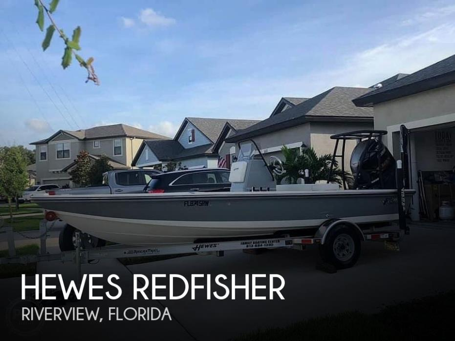 2019 Hewes Redfisher