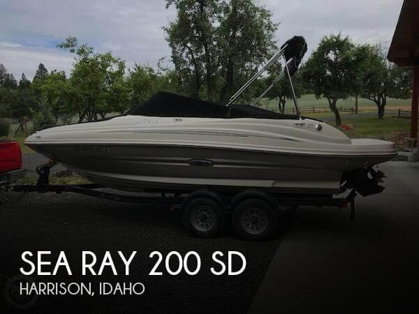 2010 Sea Ray 200 SD