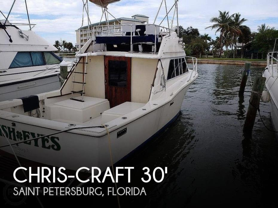 1975 Chris-Craft 30 Tournament SportFish