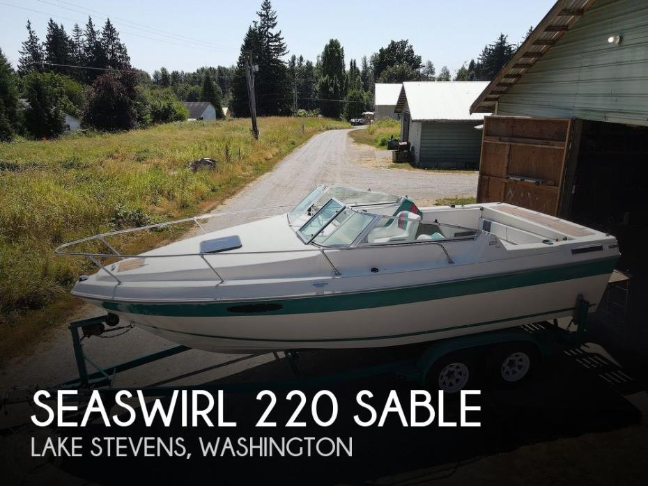 1991 Seaswirl 220 Sable