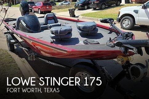 2018 Lowe Stinger 175C
