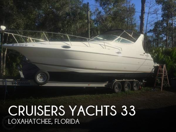 1998 Cruisers Yachts 3075 Rouge