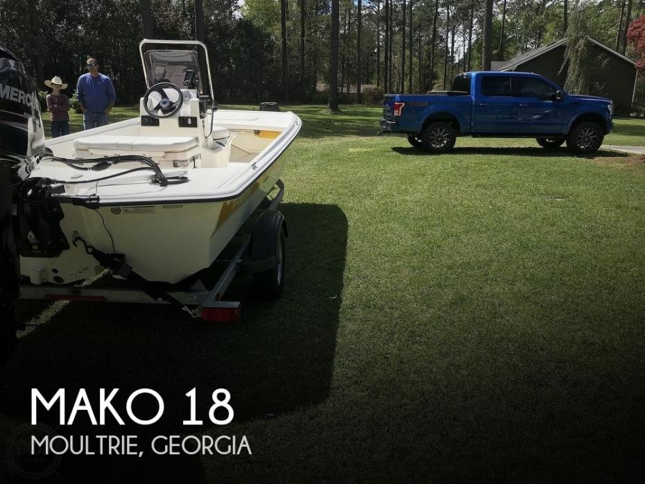 2018 Mako Pros Skiff M17 CCJ