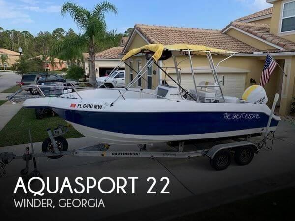 2001 Aquasport 22