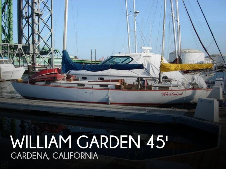 1956 William Garden 45 Yawl