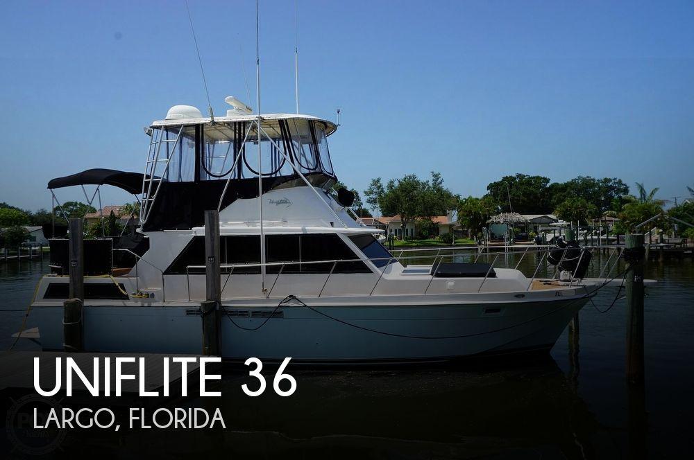 1981 Uniflite 36 Double Cabin