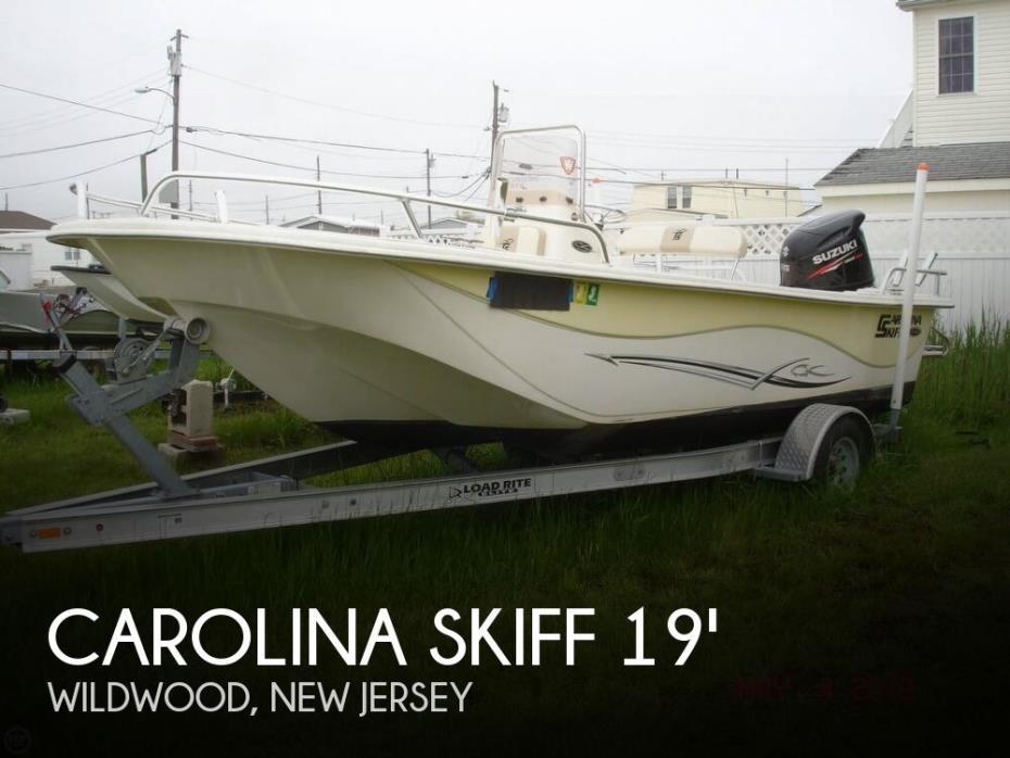 2015 Carolina Skiff 198 DLV