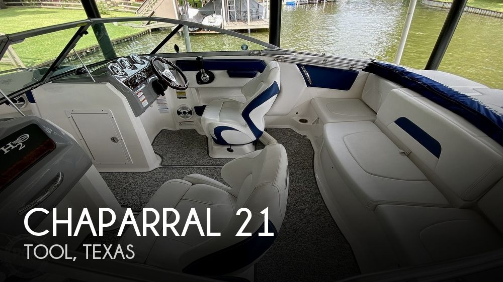 2014 Chaparral H2O 21 Deluxe