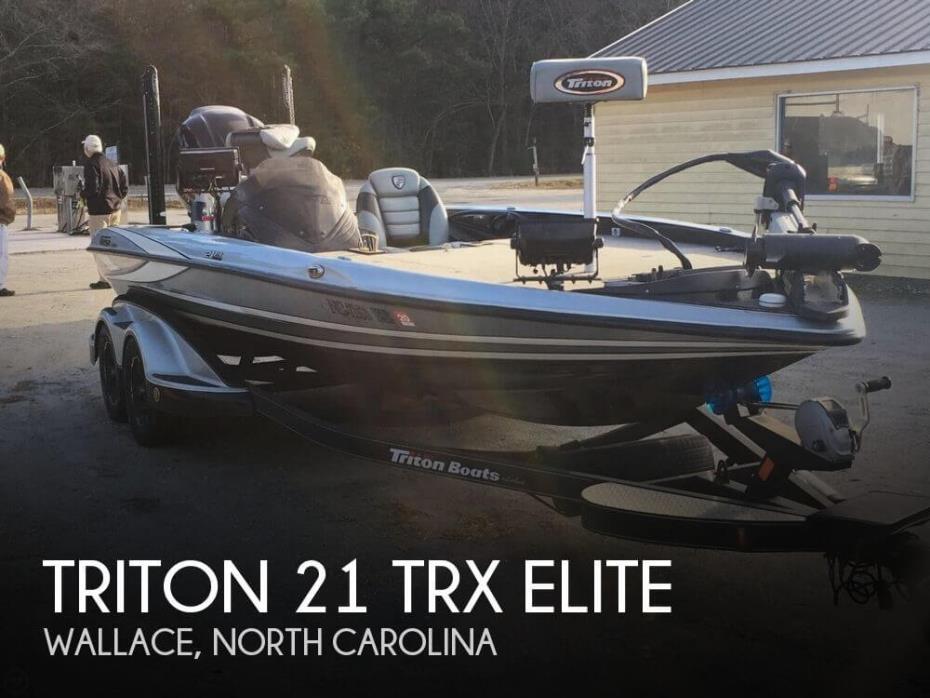 2015 Triton 21 TRX Elite