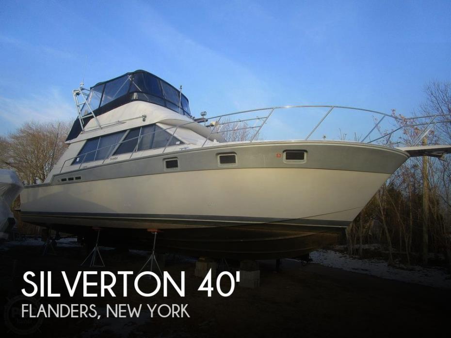 1987 Silverton 40 Convertible
