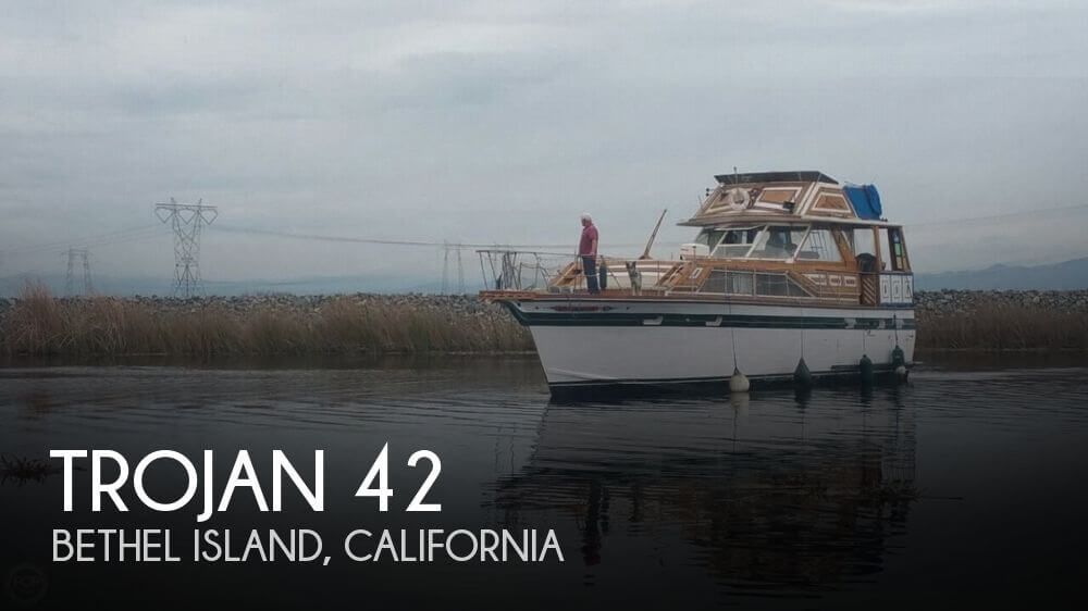 1972 Trojan Flush Deck Motoryacht 42