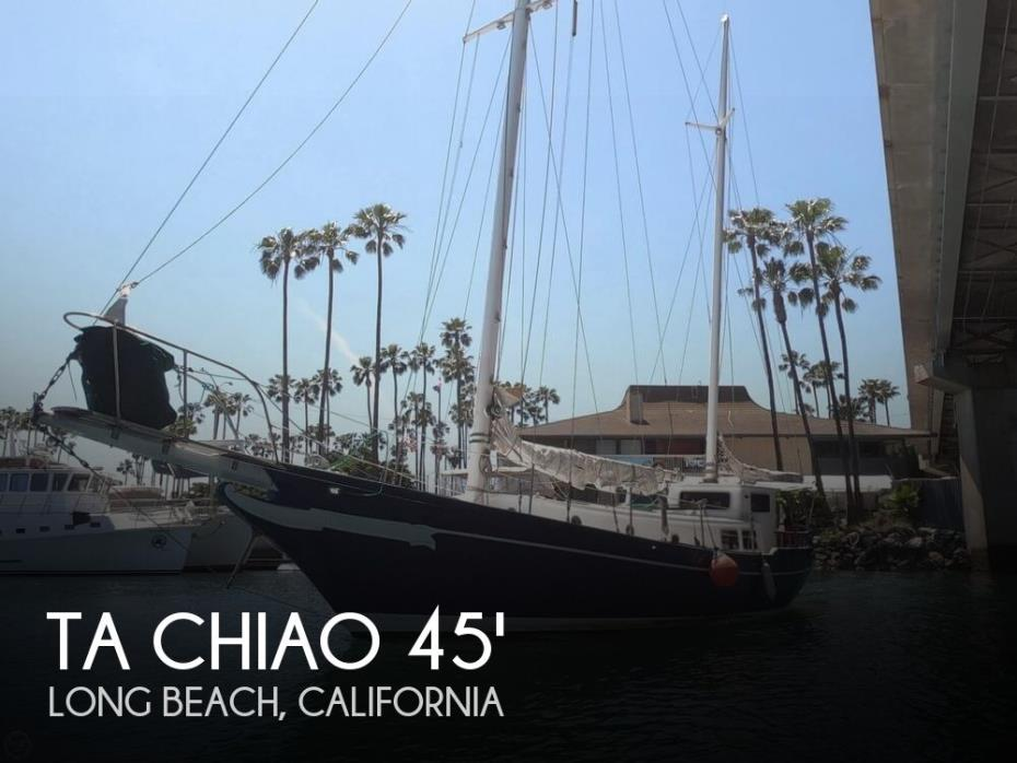 1972 Ta Chiao Formosa 45 Ketch