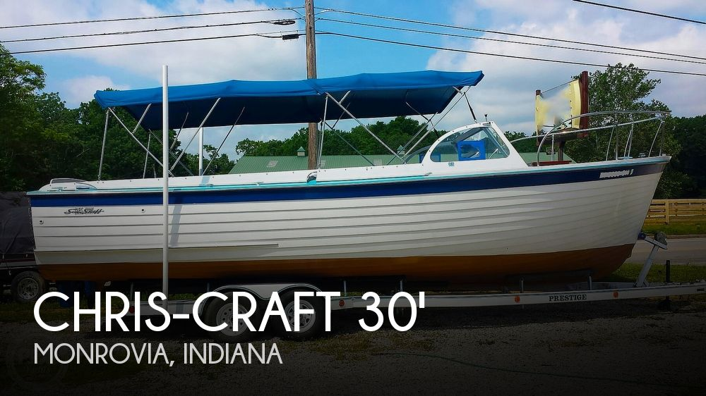 1958 Chris-Craft Open Ski Skiff