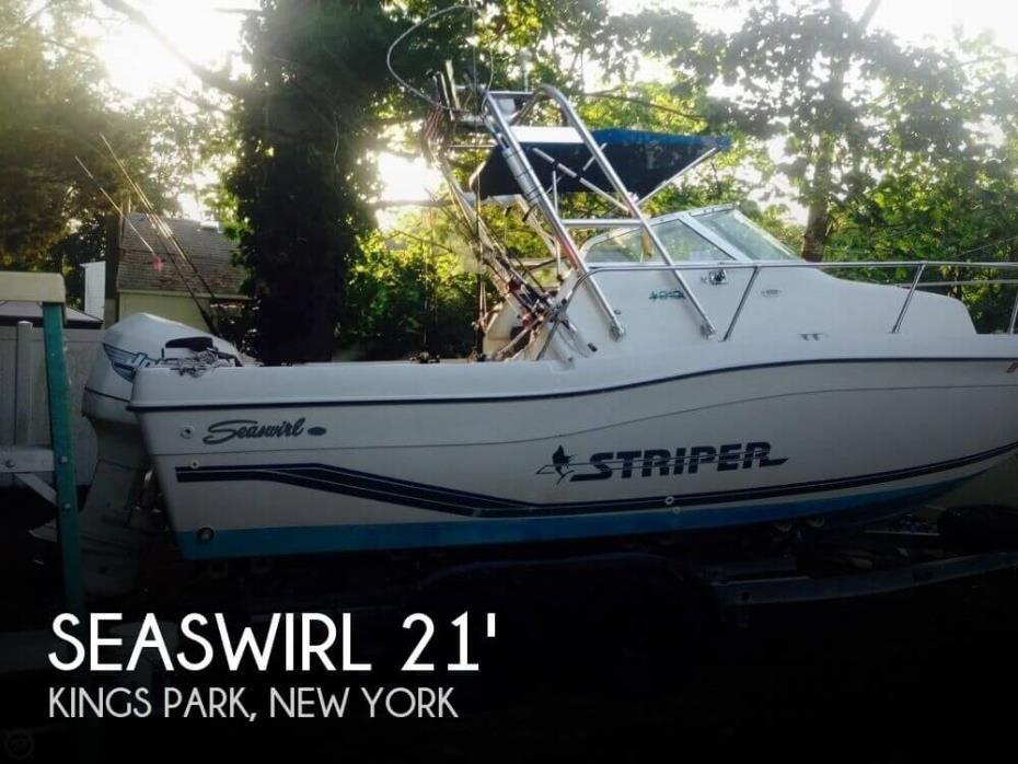 1996 Seaswirl 2100 Striper