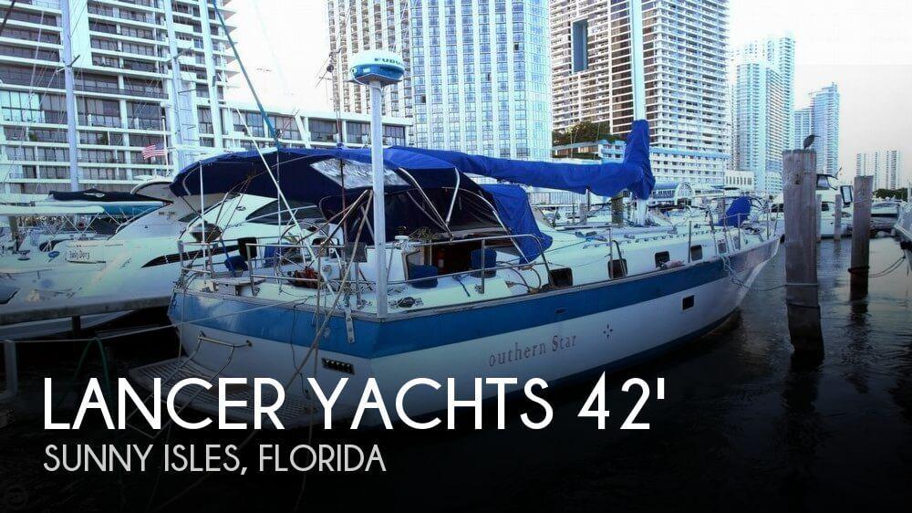 1981 Lancer Yachts 42 masthead sloop